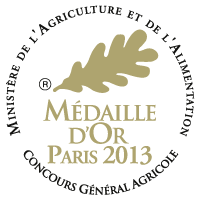 Medaille d'or 2013